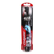 Nueva Colgate Cepillo de dientes eléctrico 360 ° consejos de cerdas de  carbón 17 0f929fa30adb
