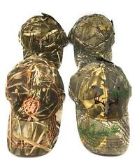 Realtree Camouflage Hat Caps Fishing Outdoors 6 Panel Adjustable Strap