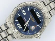 BREITLING GENTS AEROSPACE RED ARROWS WATCH TITANIUM QUARTZ BOX & PAPERS 2005