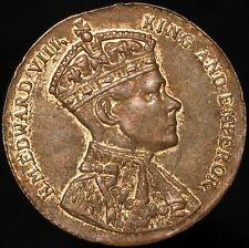 More details for 1937 | edward viii coronation medal 'arthur fenwick, ltd.' | medals | km coins