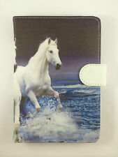 "COVER CASE UNIVERSAL TABLET 9"" 9 INCHES CLOSING MAGNETIC DRAWING HORSE"