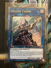 Yu-Gi-Oh! Decode Talker op06-en001! Ultimate Rare! UK Print