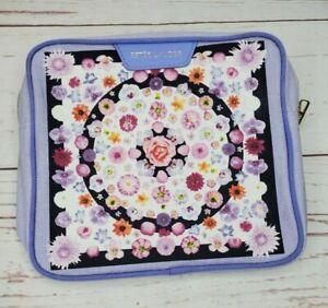 Estee Lauder Flower & Fruit Violet Canvas Cosmetic Makeup Bag