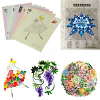 18Pcs DIY Release Drawing Locating Paper Quilling Tool Craft Collection Set