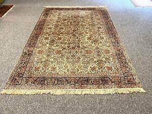 Feiner Perser/Orient Teppich Seide Seidenteppich 250 x 170 Natural Silk seta