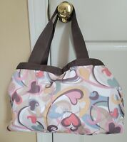 LeSportsac Travel Tote Bag With Heart Print - Multi Color