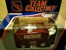 2001 Florida Panthers White Rose Diecast Zamboni 1:50 Scale - New in Box