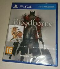 Bloodborne PS4 New Sealed PAL UK Sony PlayStation 4 Blood Born bourne