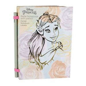 Official Licensed Disney Princess Belle Notebook With Pencil.