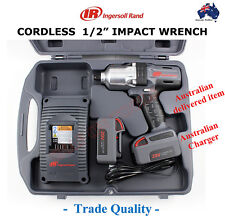 "INGERSOLL RAND 1/2"" CORDLESS IMPACT WRENCH TRADE QUALITY TOOLS GUN HIGH TORQUE"