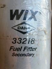 GENUINE WIX Fuel FILTER 33218  - Secondary - Spin-On