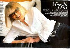 Coupure de presse Clipping 2013 Mireille Darc  (6 pages)