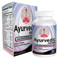 Ayurvedic Herbs All-in-1 / Supplements - Ayurveda Mind/Body/Spirit Herbal Pills