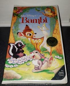 Bambi [VHS] Walt Disney Home Video- NEW Factory Sealed