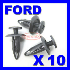 FORD FOCUS INNER WHEEL ARCH LINING LINER SPLASHGUARD TRIM CLIPS 7mm Hole