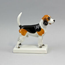 Porcelain Figure Beagle Dog of Friedrich ii. Kämmer H12CM 9944246