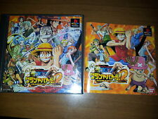ONE PIECE GRAND BATTLE! 2 SONY PLAYSTATION VIDEOGAMES PS JAP JAPANESE PSX PS1
