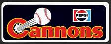 OLD 1980's CALGARY CANNONS PCL BUMPER STICKER SEATTLE MARINERS MLB NEW!