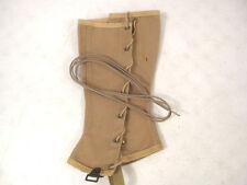 WWII Era US Army/USMC Khaki Leggins Laces Set - MINT Unissued Condition