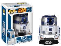 STAR WARS R2-D2 R2 D2 POP FUNKO GUERRA DE LAS GALAXIAS ROBOT FIGURA CINE 10 CM #