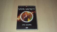 DVD   STEVE HACKETT  live legends