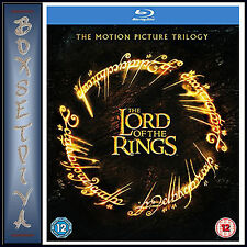 THE LORD OF THE RINGS - MOTION PICTURE TRILOGY *BRAND NEW BLU-RAY***