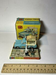Boxed CORGI 447 Wall's Ice Cream Van Ford Thames Original