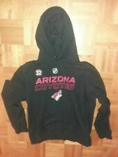 ARIZONA COYOTES Antti Raanta #32 hooded pullover warmup jacket 2019-2020 season