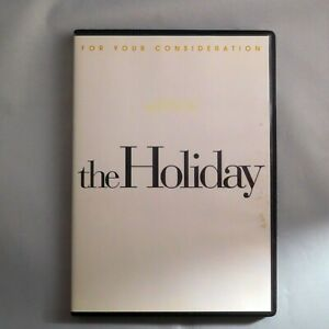 The Holiday DVD 2007 Jude Law Cameron Diaz Kate Winslet For Your Consideration