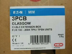 ORIGINAL GENUINE Eaton 3PCB MEM CABLE EXTENSION BOX