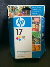 HP 17 C6625A Tri-Color Ink Cartridge Deskjet 840 840C 842C 843C OEM Sealed Box
