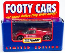 Matchbox Footy Cars Australian AFL Sydney Swans 1:64 New In Box Limited Edition