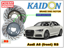 """AUDI A6 disc rotor KAIDON (front) type """"RS"""" spec"""