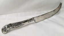 Greenleaf & Crosby Sterling Silver Ornate  Cheese Knife