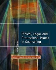 Ethical, Legal, and Professional Issues in Counseling by Barbara Herlihy,...