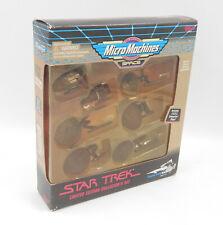 Micro Machines SPACE - STAR TREK Enterprise Ships Bronze Limited Edition - MISB