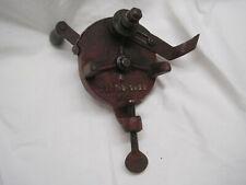 Hand Crank Bench Grinder Antique Vintage Old Tools Sharpener