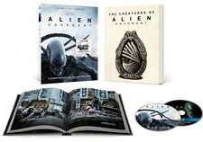 Alien Covenant Target Blu-ray DVD w/ book Includes Digital HD NEW FREE SHIP 8/15