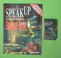 MC Musicassetta SPEAK UP n.155 Febbraio 1998 + Fascicolo magazine no vhs dvd cd