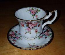 Royal Albert Cottage Garden  Demitasse Cup and Saucer, Bone China, Vintage, New