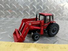 1/64 ERTL custom international ih farmall 3688 tractor with red loader farm toy
