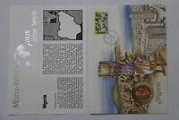 NIGERIA 1 KOBO 1974 COIN COVER A98 - 54