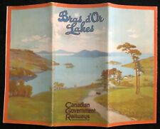 BRAS D'OR LAKES CANADIAN GOVERMENT RAILWAYS