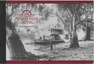 Australia 2003 Murray River Shipping Prestige Booklet