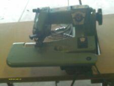 New listing U.S. Blind Stitch Model 1118-2 Industrial Sewing Machine w/ Motor Table & Manual