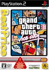 Used PS2 Grand Theft Auto: Vice City SONY PLAYSTATION JAPAN IMPORT