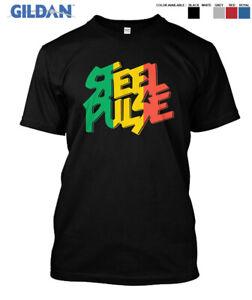 Steel Pulse Reggae Band Music Essential premium Gildan T-Shirt Size S-2XL