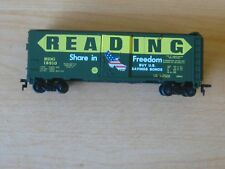 "Mantua ""Reading"" 40 Foot Boxcar ""Share in Freedom"". HO Scale. No Box."