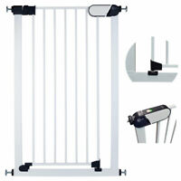 Callowesse® Saluki Narrow Pet / Baby Stair Gate 65-126cm (With Ext.) H: 96cm