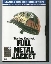 FULL METAL JACKET - Stanley Kubrick - DVD - Snapper - COME NUOVO